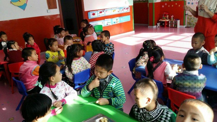 分享食物_分享_红星区中心幼儿园