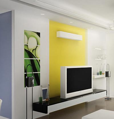 家装电视墙效果图欣赏 二